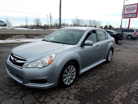 2012 Subaru Legacy for sale at DAVE KNAPP USED CARS in Lapeer MI