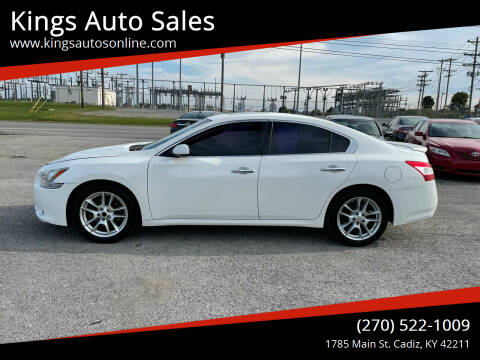 2009 Nissan Maxima for sale at Kings Auto Sales in Cadiz KY