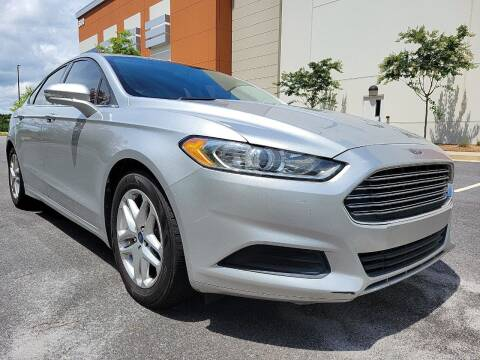 2013 Ford Fusion for sale at ELAN AUTOMOTIVE GROUP in Buford GA