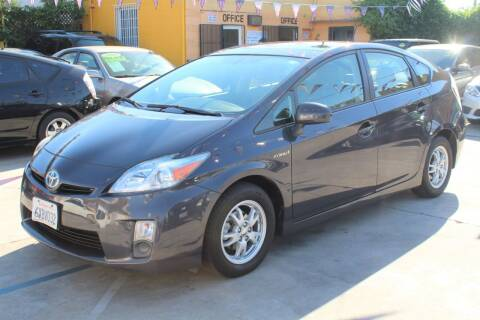 2010 Toyota Prius for sale at FJ Auto Sales in North Hollywood CA