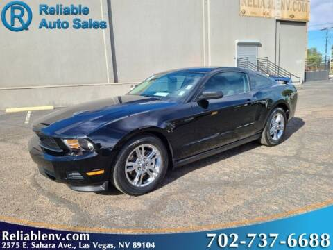 2011 Ford Mustang for sale at Reliable Auto Sales in Las Vegas NV