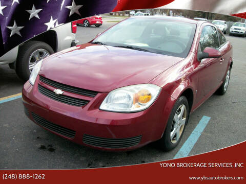 2007 Chevrolet Cobalt for sale at Yono Brokerage Services, INC in Farmington MI