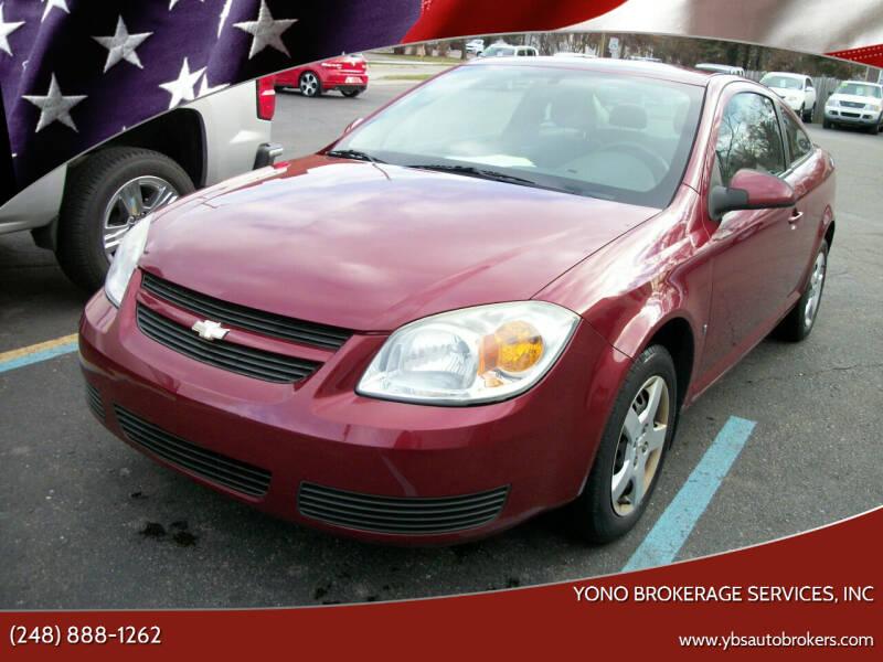 2007 Chevrolet Cobalt for sale at Yono Brokerage Services, INC in Farmington MI