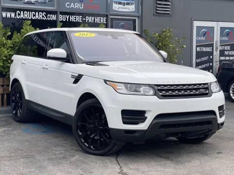 2017 Land Rover Range Rover Sport for sale at CARUCARS LLC in Miami FL