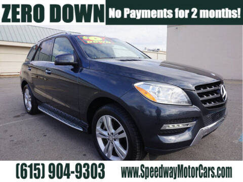 2015 Mercedes-Benz M-Class for sale at Speedway Motors in Murfreesboro TN