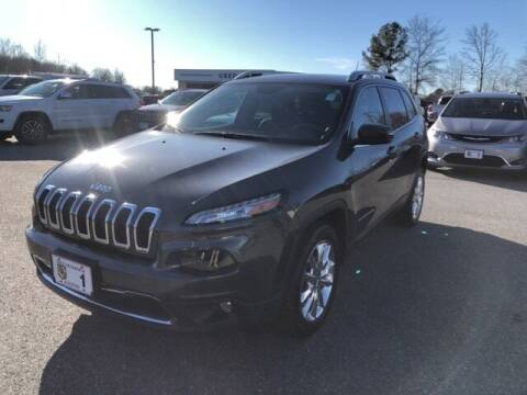 2014 Jeep Cherokee for sale at FRED FREDERICK CHRYSLER, DODGE, JEEP, RAM, EASTON in Easton MD