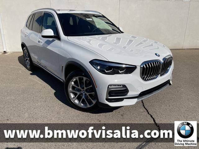 2021 BMW X5 for sale at BMW OF VISALIA in Visalia CA