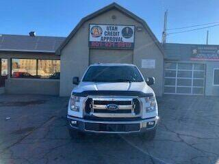 2017 Ford F-150 for sale at Utah Credit Approval Auto Sales in Murray UT