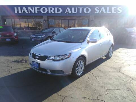 2012 Kia Forte5 for sale at Hanford Auto Sales in Hanford CA