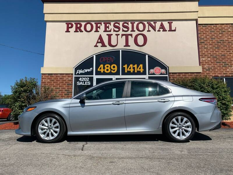 2020 Toyota Camry for sale at Professional Auto Sales & Service in Fort Wayne IN