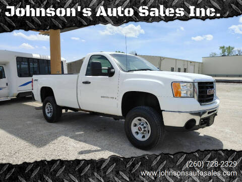2007 GMC Sierra 3500HD for sale at Johnson's Auto Sales Inc. in Decatur IN