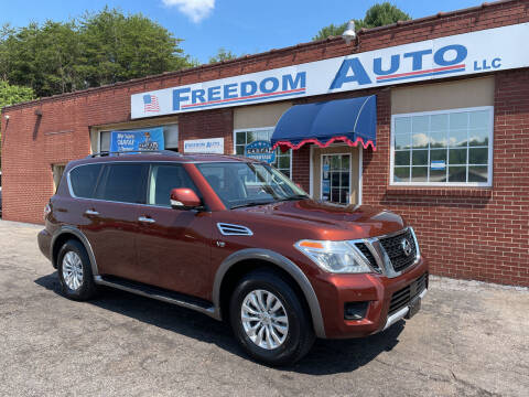 2017 Nissan Armada for sale at FREEDOM AUTO LLC in Wilkesboro NC