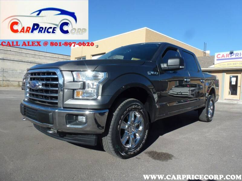 2017 Ford F-150 for sale at CarPrice Corp in Murray UT