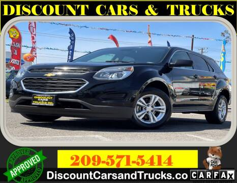 2017 Chevrolet Equinox for sale at Discount Cars & Trucks in Modesto CA