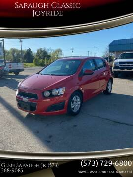 2012 Chevrolet Sonic for sale at Sapaugh Classic Joyride in Salem MO