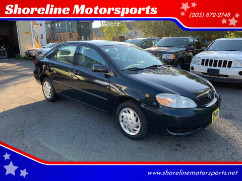 2006 Toyota Corolla for sale at Shoreline Motorsports in Waterbury CT