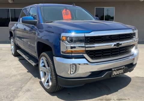 2017 Chevrolet Silverado 1500 for sale at AUTO NATIX in Tulare CA