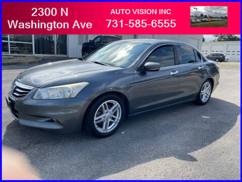 2011 Honda Accord for sale at Auto Vision Inc. in Brownsville TN