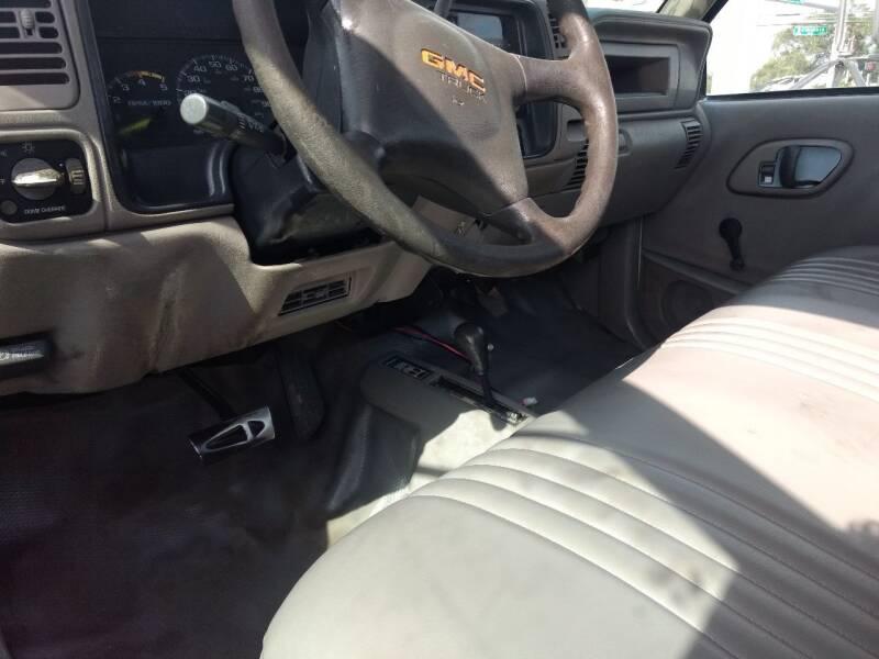 1999 GMC Sierra 3500 4X4 2dr Regular Cab - Largo FL