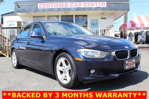 2013 BMW 3 Series for sale at CERTIFIED CAR CENTER in Fairfax VA