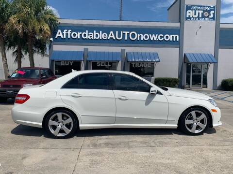 2011 Mercedes-Benz E-Class for sale at Affordable Autos in Houma LA
