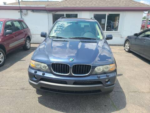 2004 BMW X5 for sale at All State Auto Sales, INC in Kentwood MI