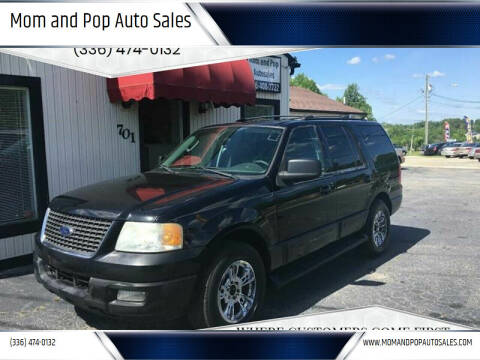 2004 Ford Expedition for sale at Mom and Pop Auto Sales LLC in Thomasville NC