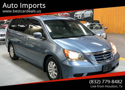 2010 Honda Odyssey for sale at Auto Imports in Houston TX