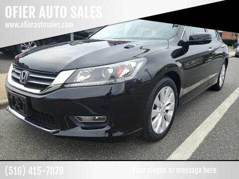 2013 Honda Accord for sale at OFIER AUTO SALES in Freeport NY