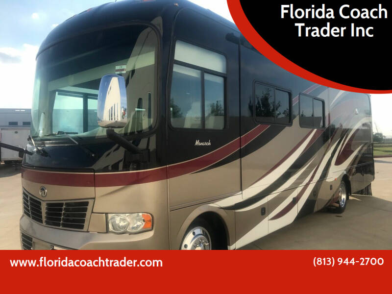 2013 Monaco Monarch for sale at Florida Coach Trader Inc in Tampa FL