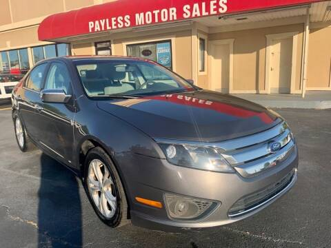 2012 Ford Fusion for sale at Payless Motor Sales LLC in Burlington NC