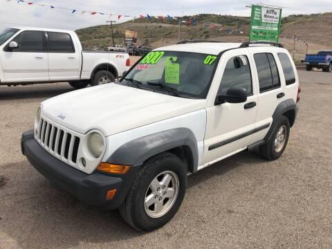 2007 Jeep Liberty for sale at Hilltop Motors in Globe AZ