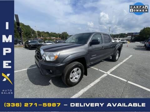 2014 Toyota Tacoma for sale at Impex Auto Sales in Greensboro NC