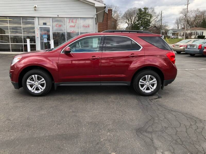2012 Chevrolet Equinox for sale at J&J Car and Truck Sales in North Canton OH