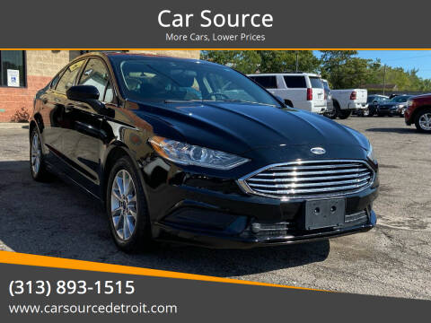 2017 Ford Fusion for sale at Car Source in Detroit MI