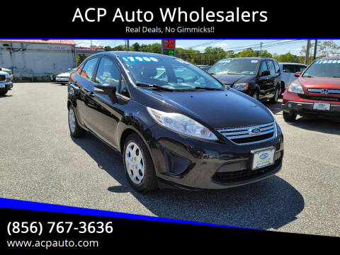 2013 Ford Fiesta for sale at ACP Auto Wholesalers in Berlin NJ