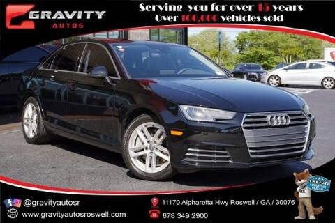 2017 Audi A4 for sale at Gravity Autos Roswell in Roswell GA