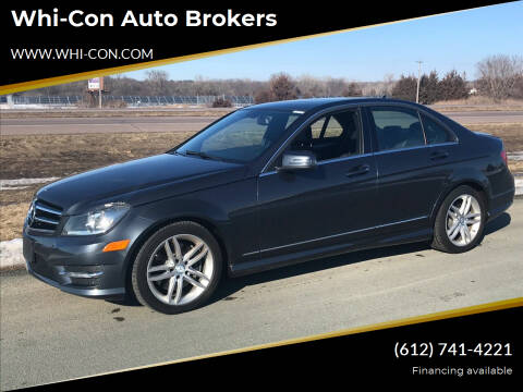 2014 Mercedes-Benz C-Class for sale at Whi-Con Auto Brokers in Shakopee MN
