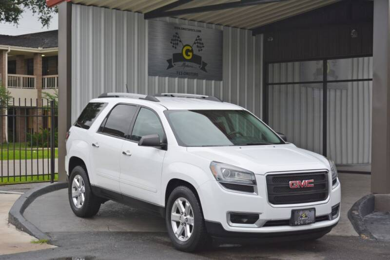 2016 GMC Acadia for sale at G MOTORS in Houston TX