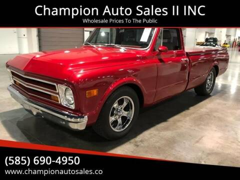 1969 Chevrolet C/K 10 Series for sale at Champion Auto Sales II INC in Rochester NY