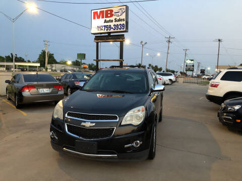 2010 Chevrolet Equinox for sale at MB Auto Sales in Oklahoma City OK