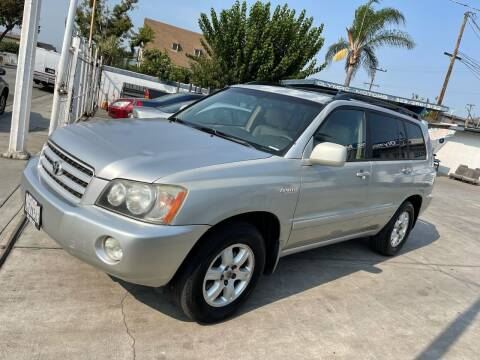 2001 Toyota Highlander for sale at Olympic Motors in Los Angeles CA