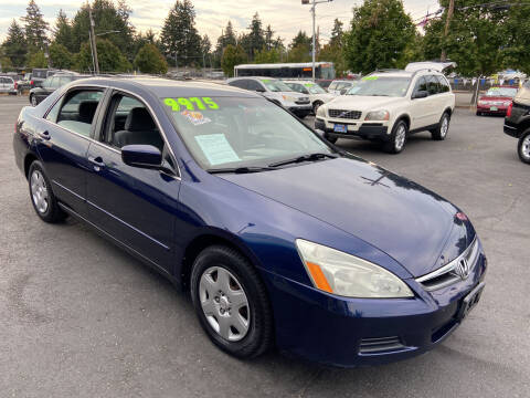 2007 Honda Accord for sale at Pacific Point Auto Sales in Lakewood WA