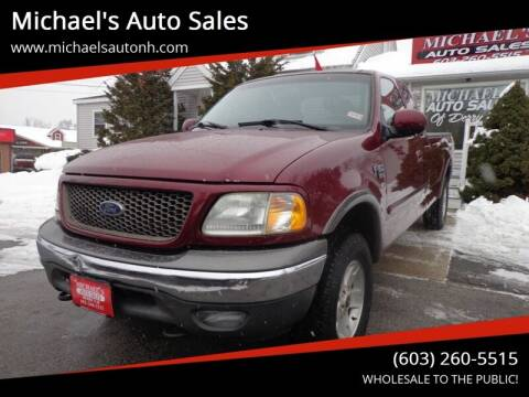 2003 Ford F-150 for sale at Michael's Auto Sales in Derry NH