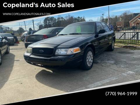 2005 Ford Crown Victoria for sale at Copeland's Auto Sales in Union City GA