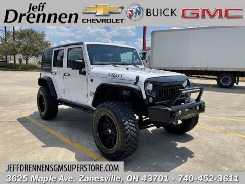 2016 Jeep Wrangler Unlimited for sale at Jeff Drennen GM Superstore in Zanesville OH