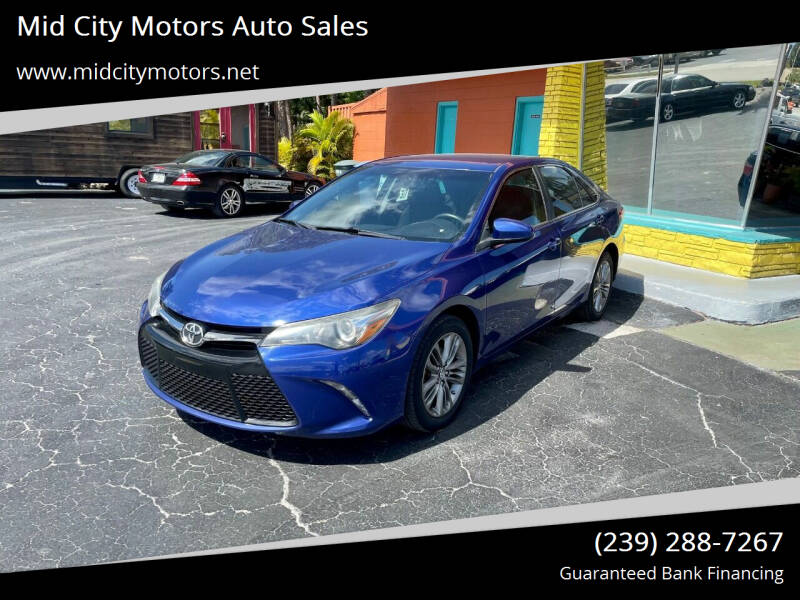 2015 Toyota Camry for sale at Mid City Motors Auto Sales in Fort Myers FL