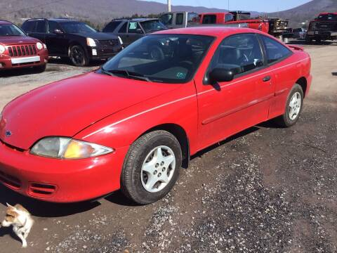 2002 Chevrolet Cavalier for sale at Troys Auto Sales in Dornsife PA