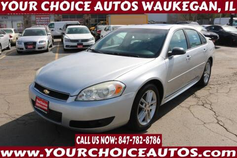 2012 Chevrolet Impala for sale at Your Choice Autos - Waukegan in Waukegan IL
