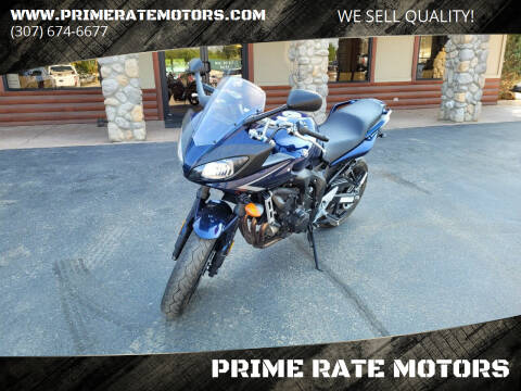2008 Yamaha FZ6-SHG for sale at PRIME RATE MOTORS in Sheridan WY